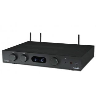 Audiolab 6000A Play Black, stereo stiprintuvas su įmontuotu media grotuvu
