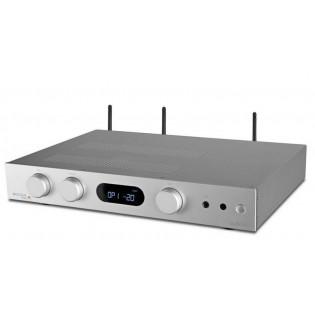 Audiolab 6000A Play Silver, stereo stiprintuvas su įmontuotu media grotuvu