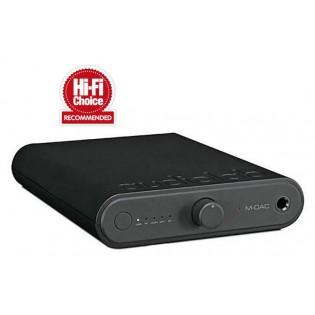 Audiolab M-DAC mini, nešiojamas ausinių stiprintuvas/DAC su Bluetooth