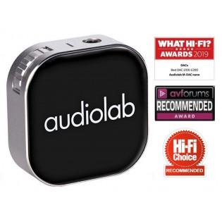 Audiolab M-DAC nano, portabilus ausinių stiprintuvas su Bluetooth