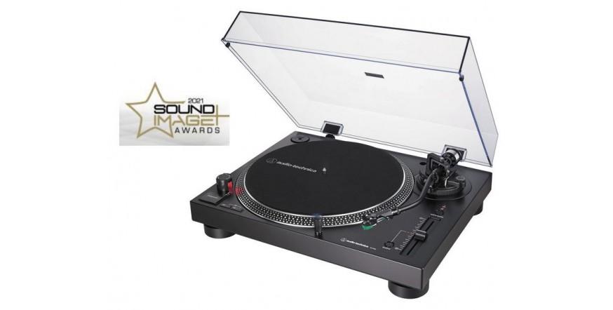 Audio Technica AT-LP120XUSB Black, plokštelių grotuvas