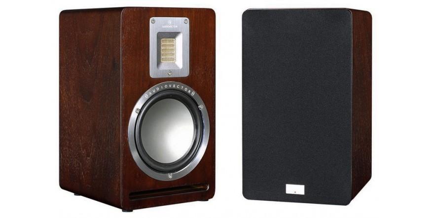 Audiovector QR 1 Dark Walnut, garso kolonėlės