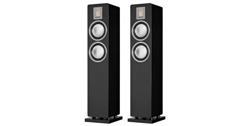 Audiovector QR 3 Black Piano, kolonėlės