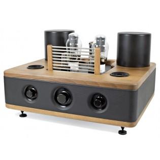Auris Audio Adagio 300B Black, lempinis stereo stiprintuvas