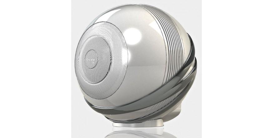 Cabasse The Pearl White Pearl, garso kolonėlė su stiprintuvu ir media grotuvu