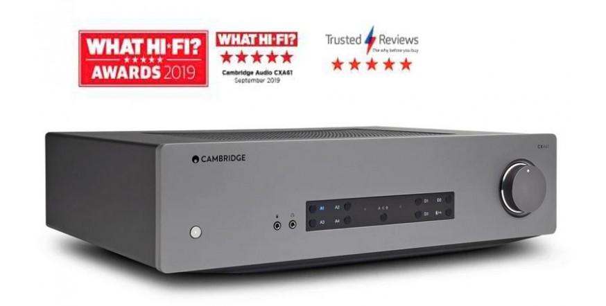 Cambridge Audio CXA61, stiprintuvas su DAC