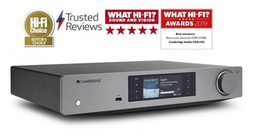 Cambridge Audio CXN V2, tinklinis grotuvas, DAC