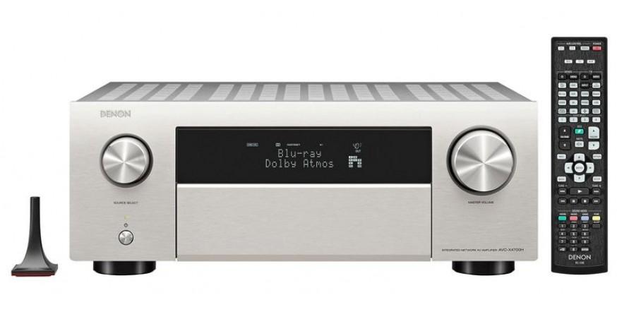 Denon AVC-X4700H Premium Silver, namų kino resyveris
