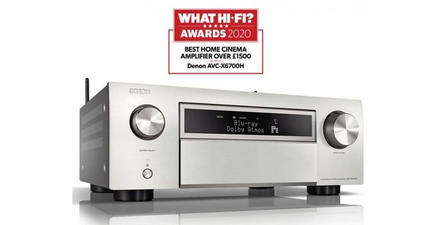 Denon AVC-X6700H Premium - Silver, namų kino resyveris