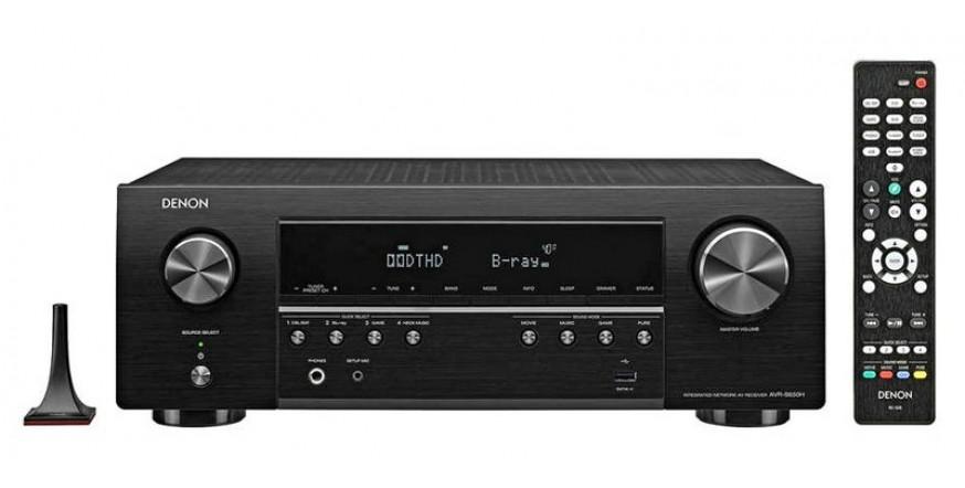 Denon AVR-S650H, namų kino resyveris