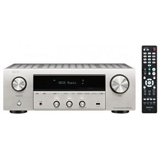 Denon DRA-800H Premium Silver, stiprintuvas su įmontuotu media grotuvu
