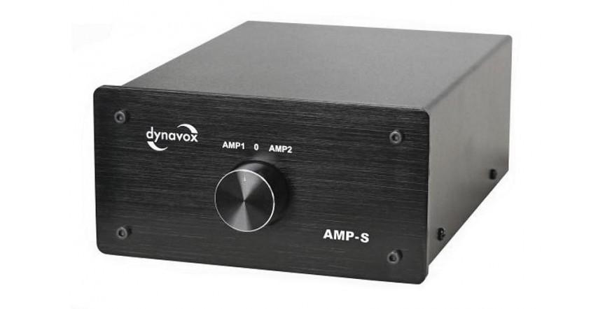 Dynavox AMP-S, komutatorius 2 stiprintuvams