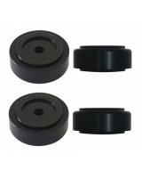 Dynavox Aluminium Fusse 4 Set Black (206383), kojelės