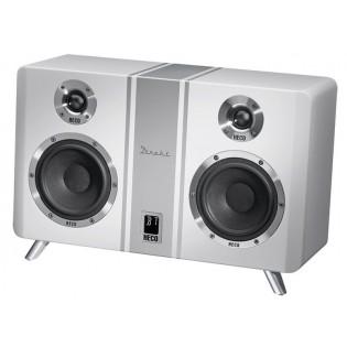 Heco Direkt 800 BT White, Bluetooth aktyvi stereo garso kolonėlė su DAC