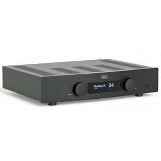Hegel H120 Black, stereo stiprintuvas su DAC ir media grotuvu