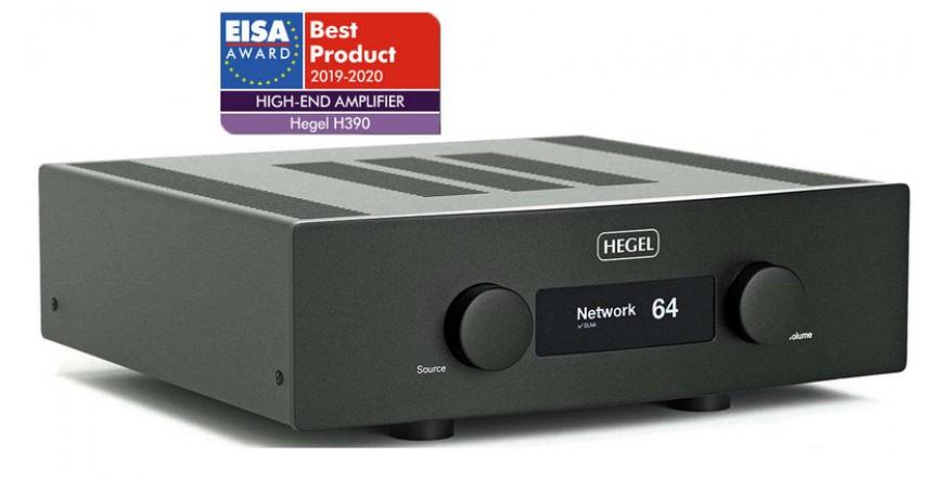 Hegel H390, stereo stiprintuvas su DAC ir media grotuvu