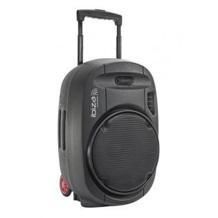 Ibiza PORT15UHF-MKII, aktyvi garso kolonėlė su audio media grotuvu ir akumuliatorium