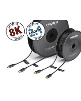 Inakustik High Speed HDMI 2.1 8K Optical Fiber 10m, HDMI kabelis