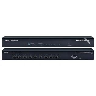 Key Digital KD-1x8CSK, (1/8) HDMI signalo išplėtimo sistema