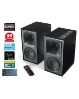 Klipsch The Fives Black, Bluetooth aktyvios garso kolonėlės su DAC ir Phono MM