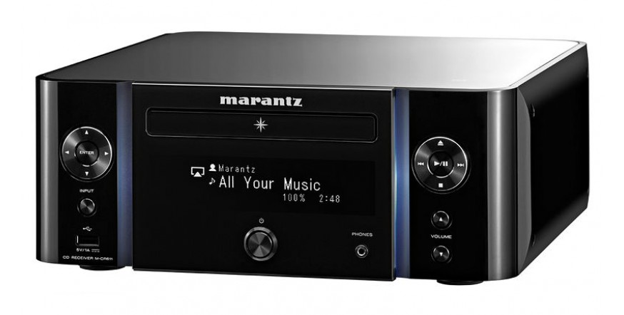 Marantz M-CR611 Black, tinklinis CD resyveris