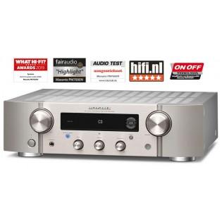 Marantz PM7000N Silver-Gold, stereo stiprintuvas su įmontuotu media grotuvu