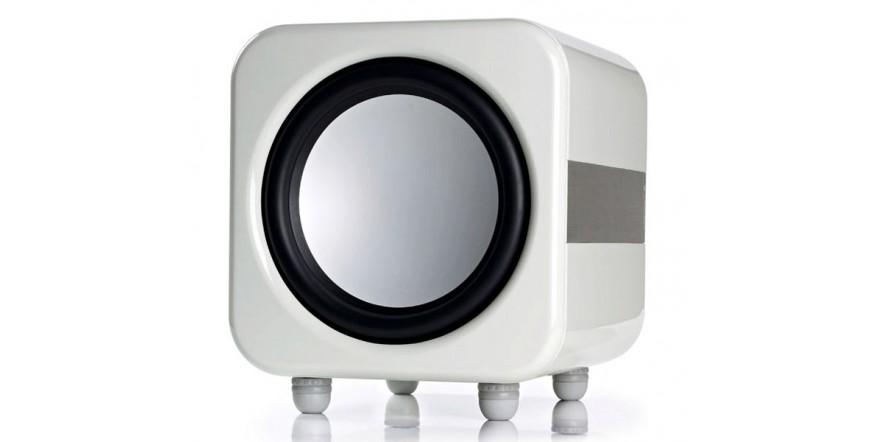 Monitor Audio Apex AW12 White, žemų dažnių kolonėlė