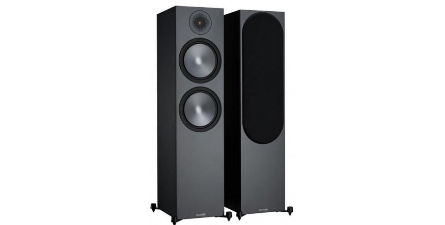 Monitor Audio Bronze 500 Black, garso kolonėlės