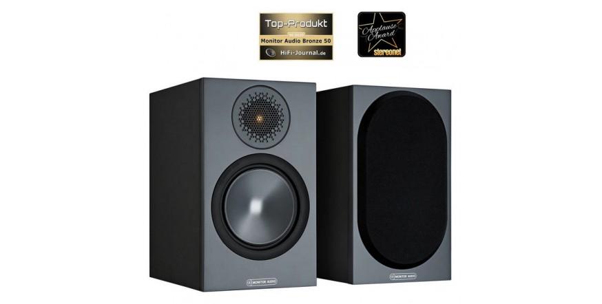Monitor Audio Bronze 50 Black, garso kolonėlės