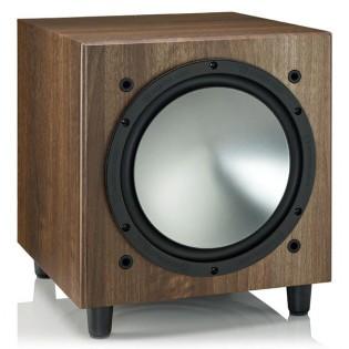 Monitor Audio Bronze W10 Walnut, žemų dažnių kolonėlė