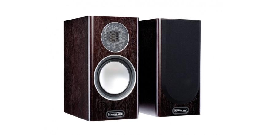 Monitor Audio Gold 100 (5G) Dark Walnut, garso kolonėlės