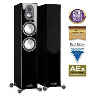 Monitor Audio Gold 200 (5G) Piano Gloss Black, garso kolonėlės