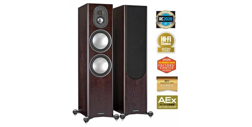 Monitor Audio Gold 300 (5G) Dark Walnut, garso kolonėlės