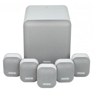 Monitor Audio Mass 5.1Mist White, kolonėlių komplektas