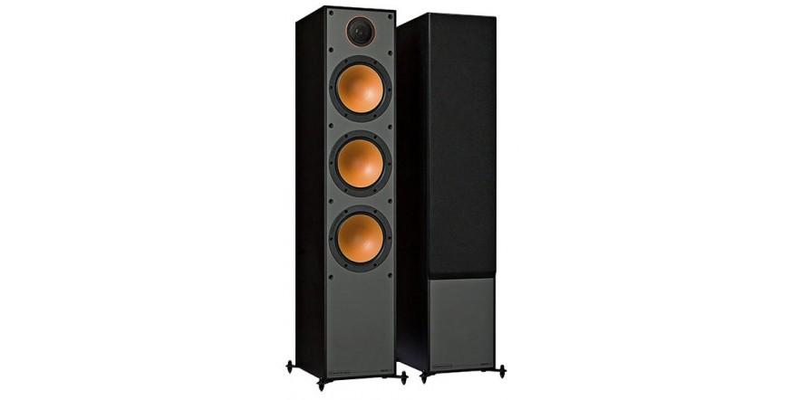Monitor Audio Monitor 300 Black Oak, garso kolonėlės