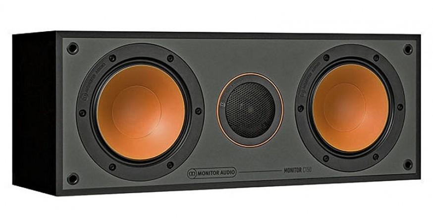 Monitor Audio Monitor C150 Black, centrinė garso kolonėlė