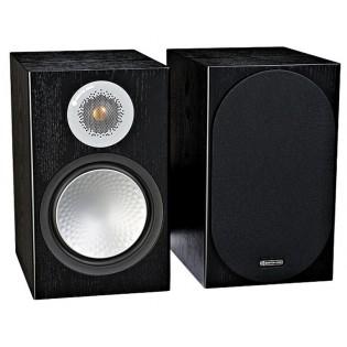 Monitor Audio Silver 100 Black Oak, garso kolonėlės