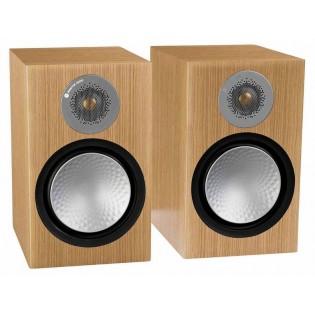 Monitor Audio Silver 100 Natural Oak, garso kolonėlės