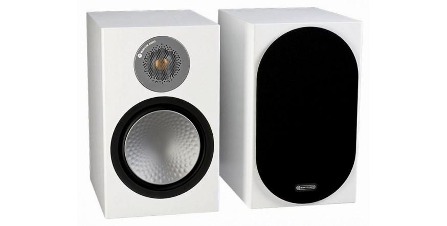 Monitor Audio Silver 100 White, garso kolonėlės