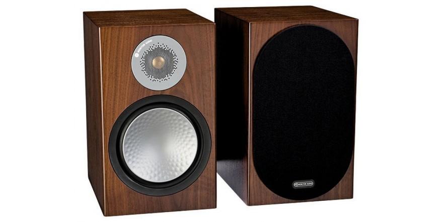 Monitor Audio Silver 100 Walnut, garso kolonėlės