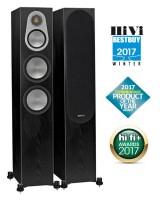Monitor Audio Silver 300 Black Oak, garso kolonėlės