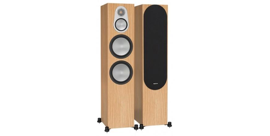 Monitor Audio Silver 500 Natural Oak, garso kolonėlės