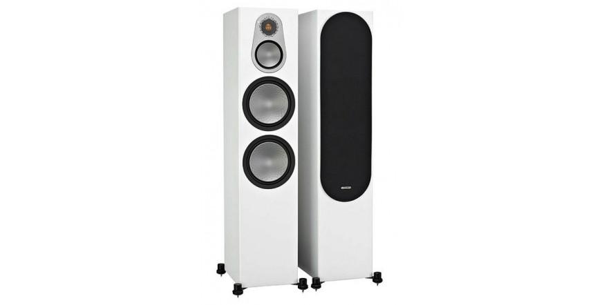 Monitor Audio Silver 500 White, garso kolonėlės