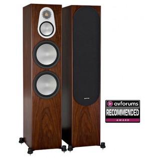 Monitor Audio Silver 500 Walnut, garso kolonėlės