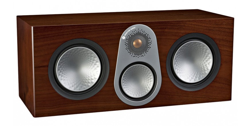 Monitor Audio Silver C350 Walnut, centrinė garso kolonėlė