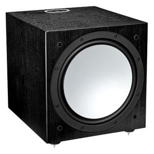 Monitor Audio Silver W-12 Black Oak, žemų dažnių kolonėlė