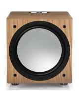 Monitor Audio Silver W-12 Natural Oak, žemų dažnių kolonėlė