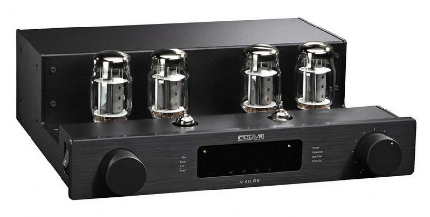 Octave V 40 SE Black, lempinis stereo stiprintuvas