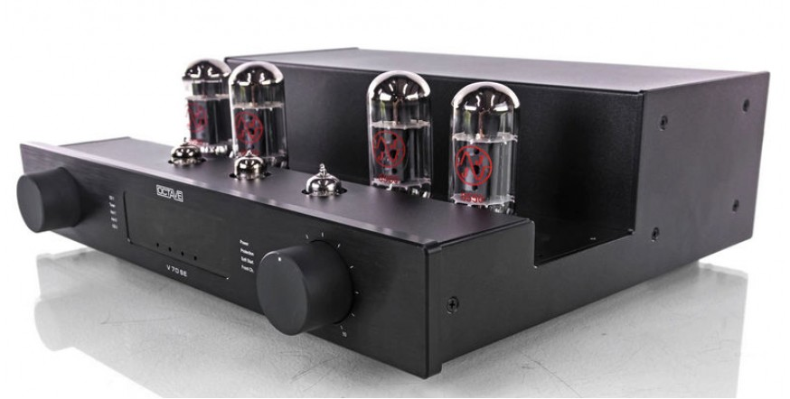 Octave V 70 SE Black, lempinis stereo stiprintuvas