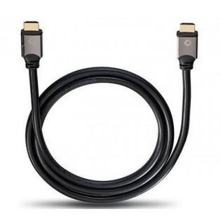 Oehlbach Black Magic MKII Ethernet, 8K, 1.5m, HDMI kabelis
